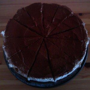 Chocolade Tiramisu Taart