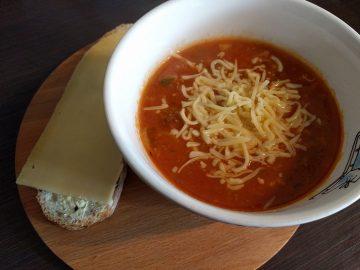 Tomaten-groentensoep